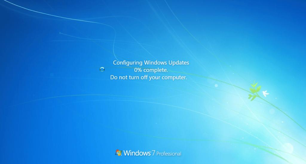 fake update windows