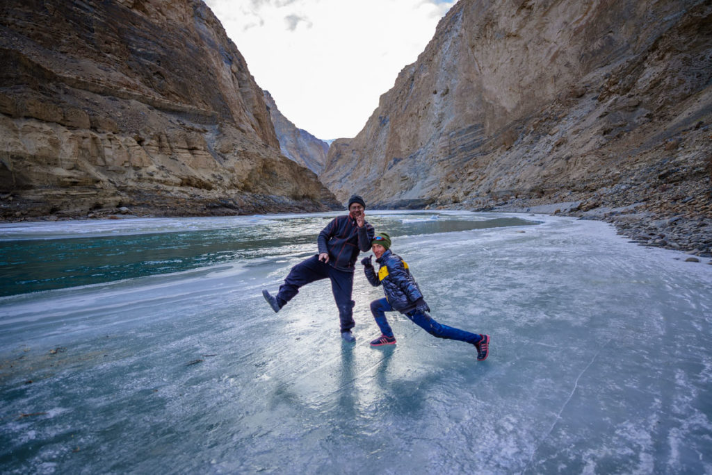 Chadar Trek and Ladakh