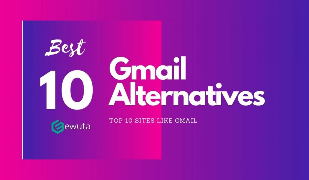 sites like gmail alternatives