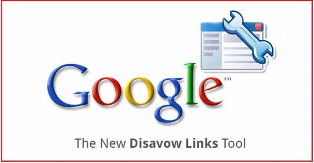 google disavow tools