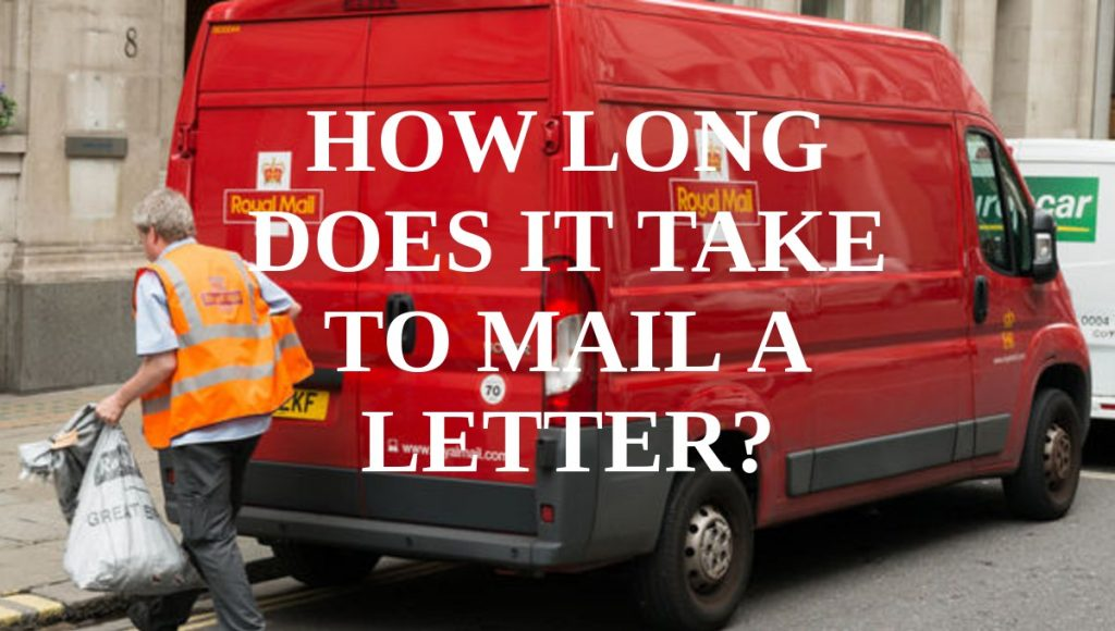 how long does it take to mail a letter